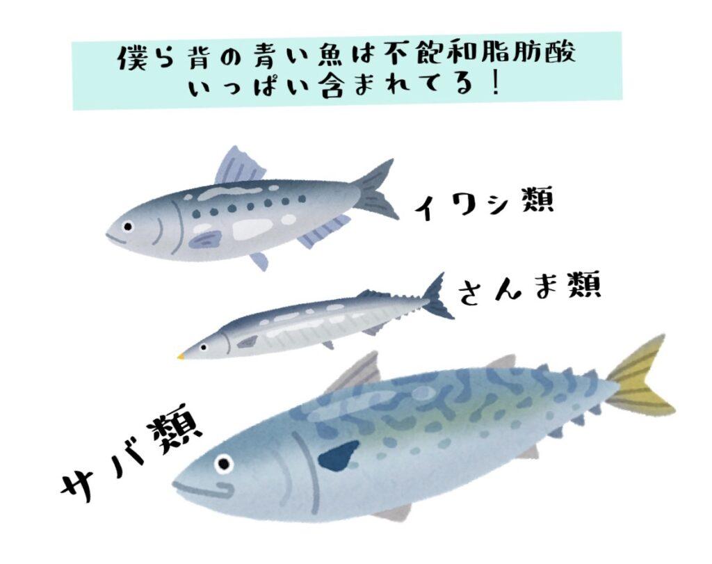 青魚・サバ・さんま・いわし