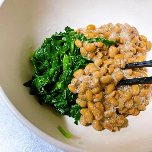 納豆と混ぜる